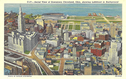 Post card of Cleveland by Eridony/Flickr