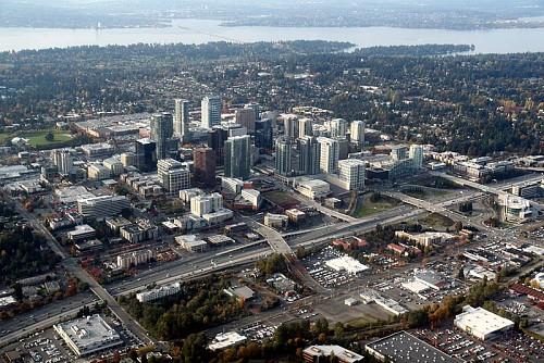 Photo of Bellevue, Washington by Jelson25/Wikimedia Commons.