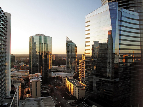 Photo of the Buckhead section of Atlanta by Brokentaco/Flickr.