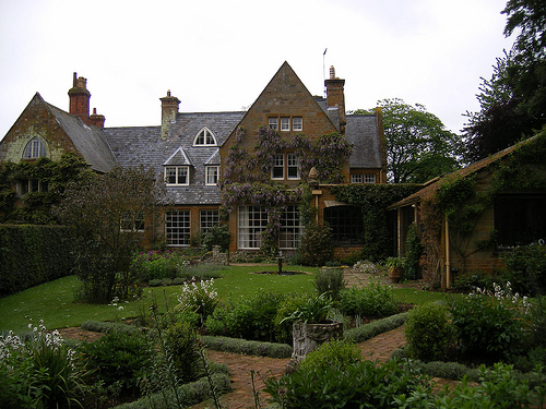 Give your house the look of royalty with slate roofing. Photo: ell brown/Flickr Creative Commons.