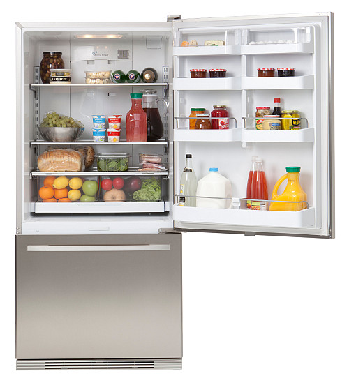 The ENERGY STAR certified Active Smart Refrigerator by Fisher &amp; Paykel (photo used with permission from Fisher &amp; Paykel Imagebank)