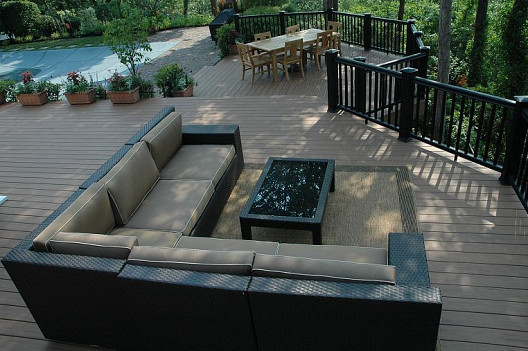 Deck and photo by Deck and Patio Company via Hometalk.com.