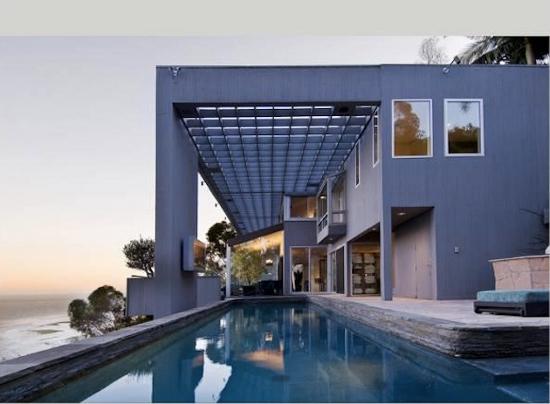 Matthew Perry's Malibu house. Image via Trulia via Forbes.com.